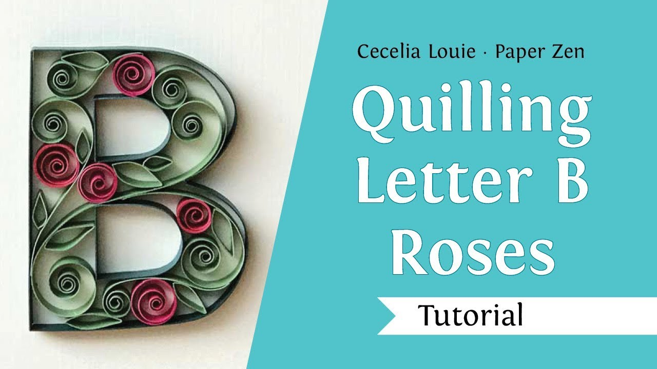 maxresdefault Quilling Letter J Template on