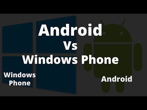 Difference Between Android And Windows Phone | Android Vs Windows Phone | AF Tech House
