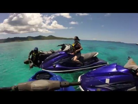 Jet Skiing in St. Thomas