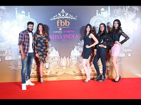 Unveiling fbb Colors Femina Miss India 2018 Andhra Pradesh Finalists