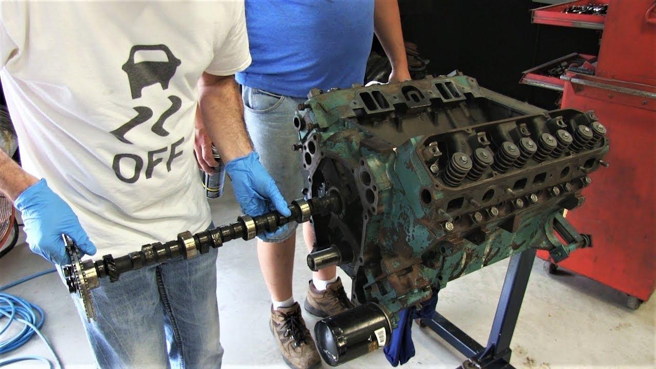Mopar 440 Engine Build Part 15 - Installing Hughes Camshaft