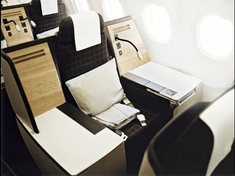 SWISS Airbus A340 business class Zurich to Bangkok