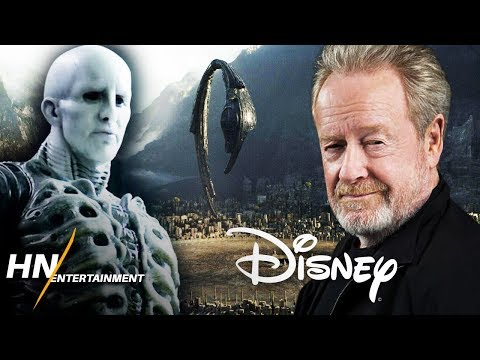 Ridley Scott CONFIRMS Discussions With Disney For Alien Awakening & Future Films