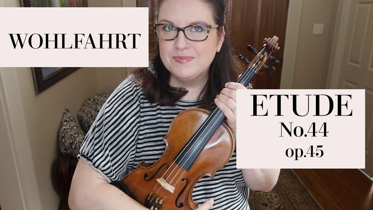 WOHLFAHRT ETUDE No. 44 op. 45