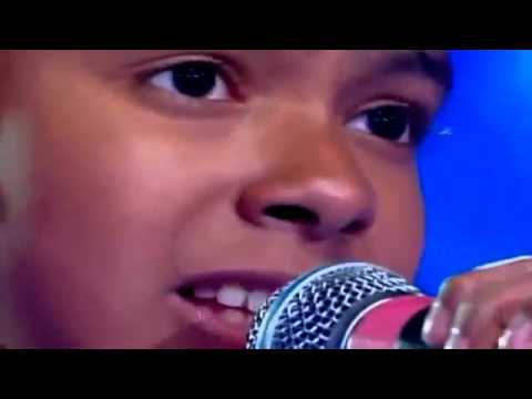 9 Year Old Boy Sings Amazing Grace My Chains are Gone.flv