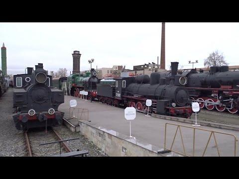 Музей Октябрьской железной дороги - БЖРК 'Молодец'