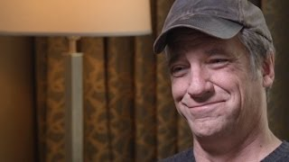 Dirty jobs' mike rowe on the high cost of college (full interview)