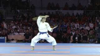 Memorable quest for medals in Female Kata competition at 2016 Karate World Championships