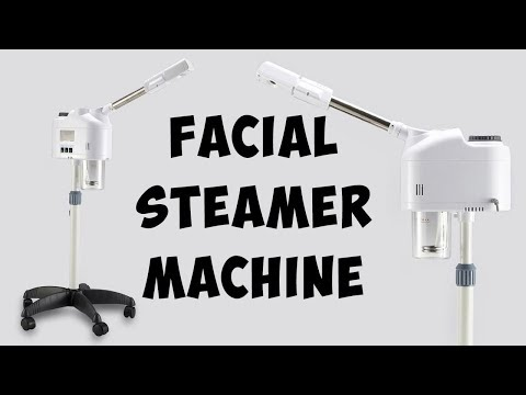 Facial Steamer Spray Machine - Adjustable Height For Salon Spa Face Beauty Salon Tool