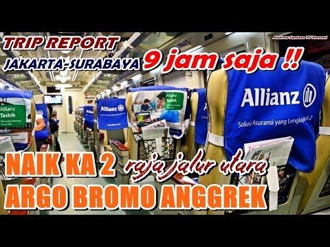 TRIP REPORT - NAIK KA TERCEPAT DI INDONESIA !!! JAKARTA-SURABAYA 9 JAM WITH ARGO ANGGREK PAGI