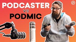 Rode Podcaster vs Rode PodMic Comparison