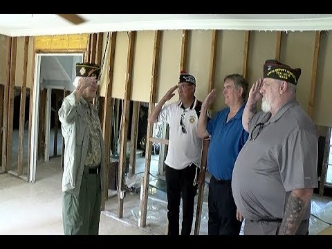 091417 WWII VET GETS HELP FOR FLOODED HOME