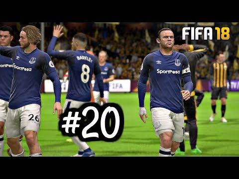FIFA 18 Everton Career Mode Episode 20 - Europa League Madness | Xbox One Gameplay