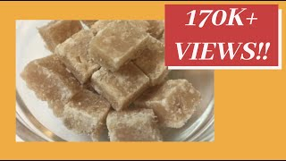Ginger Barfi Recipe   Winter Recipes   Sweet and Spicy Ginger Barfi   Ginger Candy Recipe