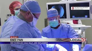 Cincinnati (wkrc) - breakthrough technology could help treat knee pain in a new way. this is now clinical trials to see if it might stop kn...