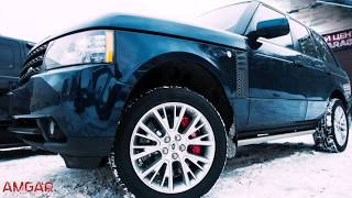 Замена тормозной системы на Land Rover Range Rover. Тюнинг тормозов