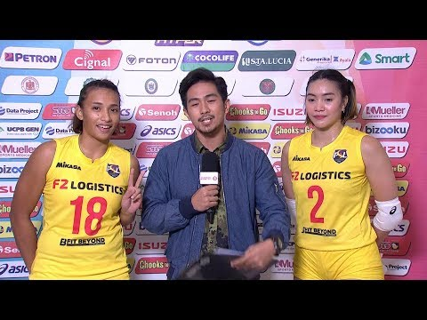 Match MVPs: Michelle Morente and Aby Maraño | PSL All-Filipino Conference 2018