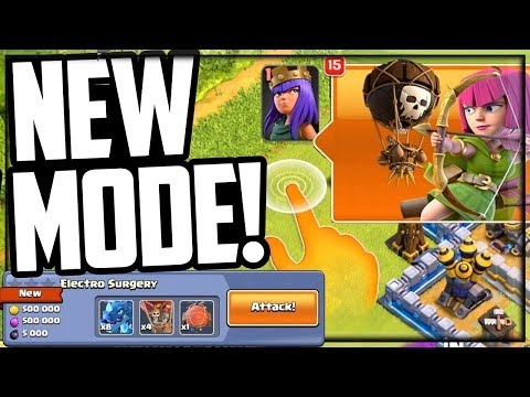 NEW Game Mode! Clash Of Clans UPDATE!