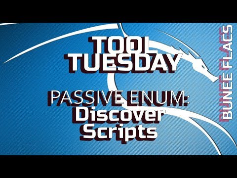 Tool Tuesday: Discover Scripts - Passive Enumeration