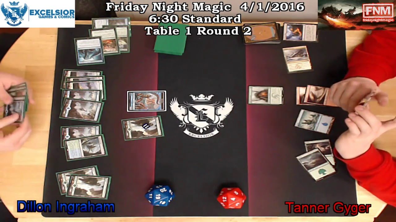 FNM 4/21/2016 6:30 Standard Table 1 Round 2
