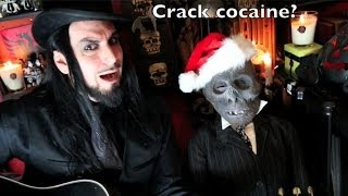 Aurelio Voltaire - Santa Claus is Satan - World Premiere Song OFFICIAL