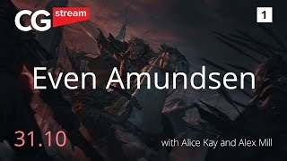 ART OF Even Amundsen. LIVE STREAM. PAINTING AND BIOGRAFY. CG Stream. RUS Subs. Part 1.(ART OF Even Amundsen. LIVE STREAM. PAINTING AND BIOGRAFY. CG Stream. RUS Subs. Live stream with Even Mehl Amundsen, talking about biografy, ..., 2016-11-08T11:50:59.000Z)