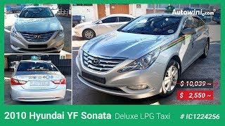 ($ 2,550 ~) 2010 Hyundai YF Sonata Deluxe LPG Taxi - Autowini.com