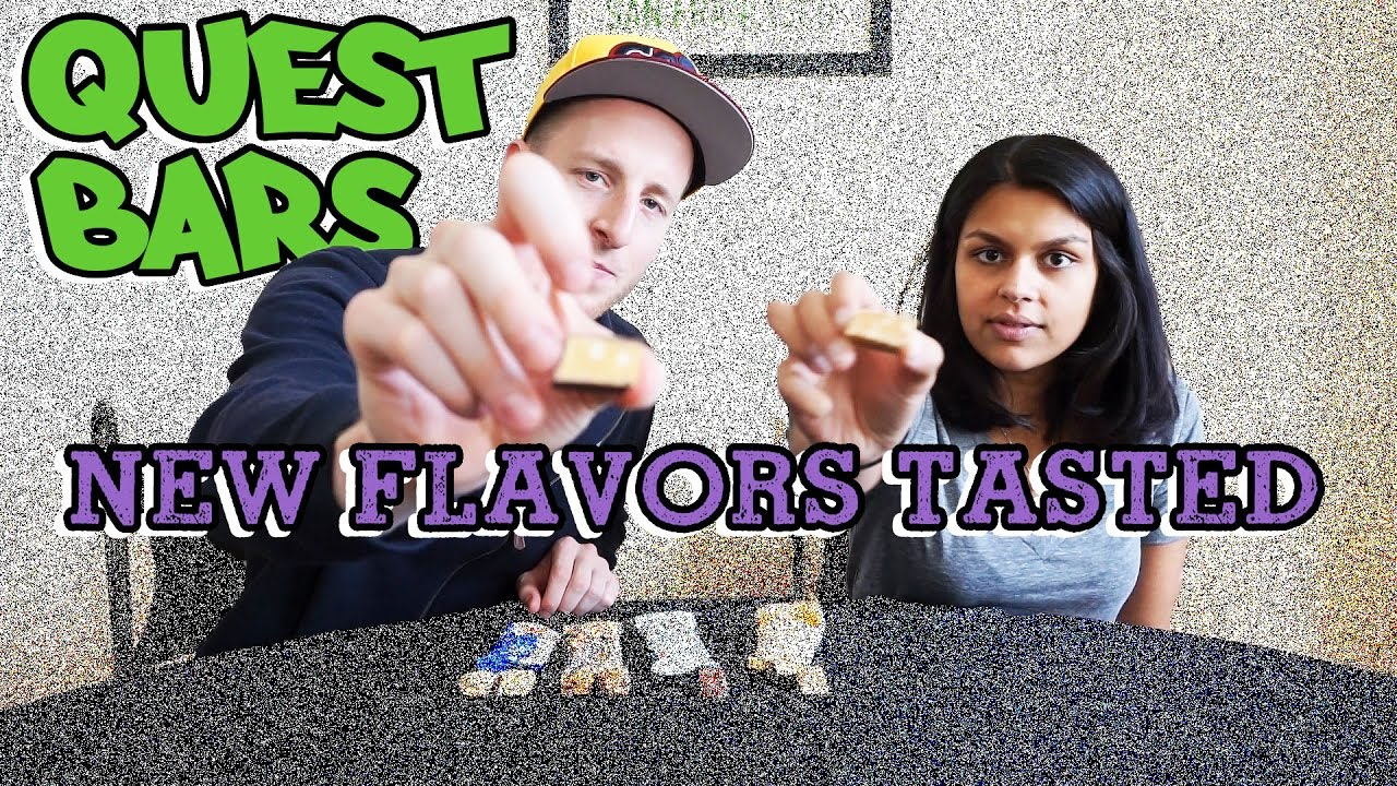 New Quest Bar Flavors Tested | Blueberry Muffin - Oatmeal ...