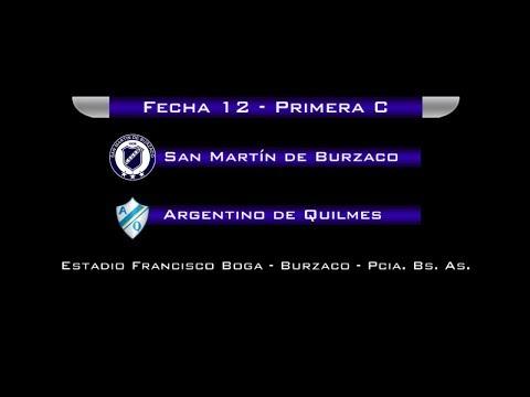 Fecha 12: San Martín de Burzaco vs Arg. de Quilmes - EN VIVO