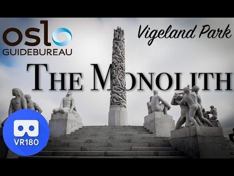 Vigeland Park virtual tour- The Monolith VR180