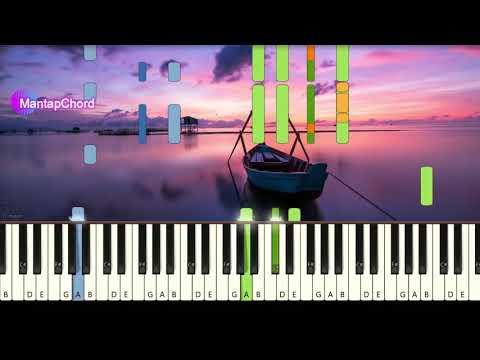 ZAYN Ft. SIA - DUSK TILL DAWN - Piano Tutorial MantapChord