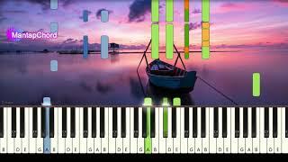 Download ZAYN ft. SIA - DUSK TILL DAWN - Piano Tutorial MantapChord