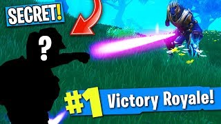 SECRET SKIN vs. THANOS In Fortnite: Battle Royale! (MY REACTION TO INFINITY GAUNTLET GAME MODE!)