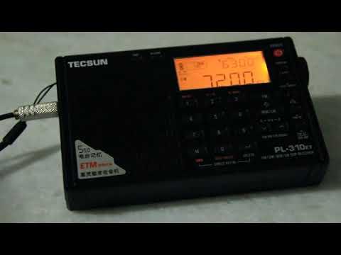 Myanmar Radio  - 7200 kHz