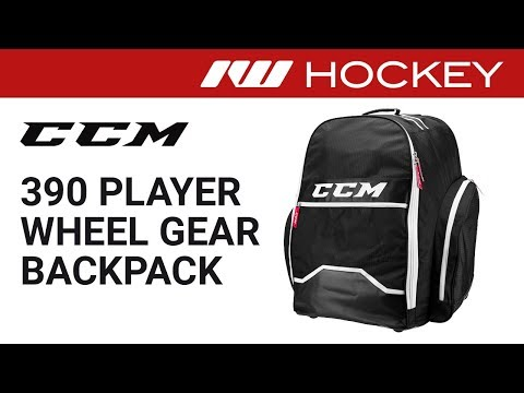 CCM 390 Player Wheeled Gear Backpack Review