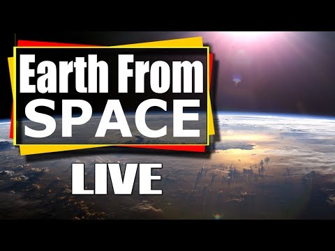 NASA live stream - Earth From Space LIVE Feed | Incredible ISS live stream of Earth from space