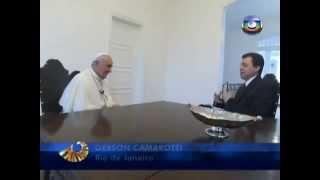 Entrevista al Papa Francisco donde habla del Vatileaks, la reforma de la curia romana, etc.
