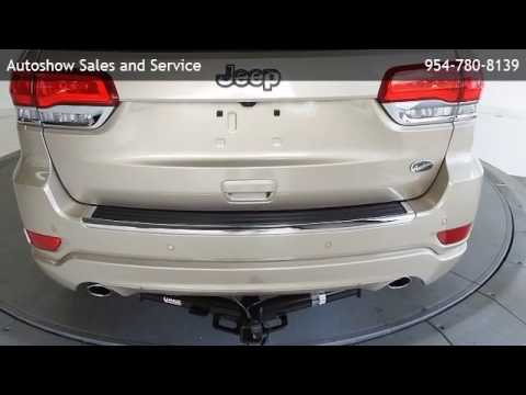 2014 Jeep Grand Cherokee 4d Wagon Overland   Oakland Park