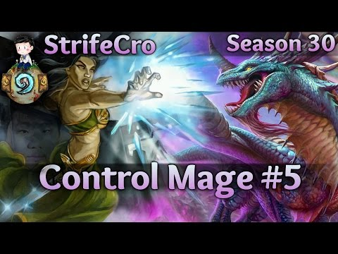 Hearthstone Control Mage S30 #5: Aggro Has Nothing on Me