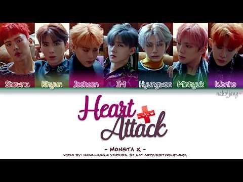 MONSTA X (몬스타엑스) – HEART ATTACK (Coded Lyrics Eng/Rom/Han/가사)