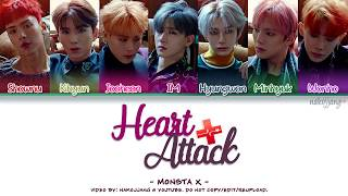 [3.14 MB] MONSTA X (몬스타엑스) – HEART ATTACK (Coded Lyrics Eng/Rom/Han/가사)