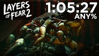 Layers of Fear 2 - Any% Speedrun in 1:05:27