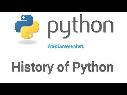 History of Python [HD 1080p]