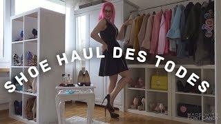 SHOE HAUL des TODES! Ankleidezimmer Tour