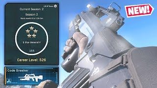 SEASON 2 LEVEL 155 REWARD in Modern Warfare! (MW Famas Code Breaker)