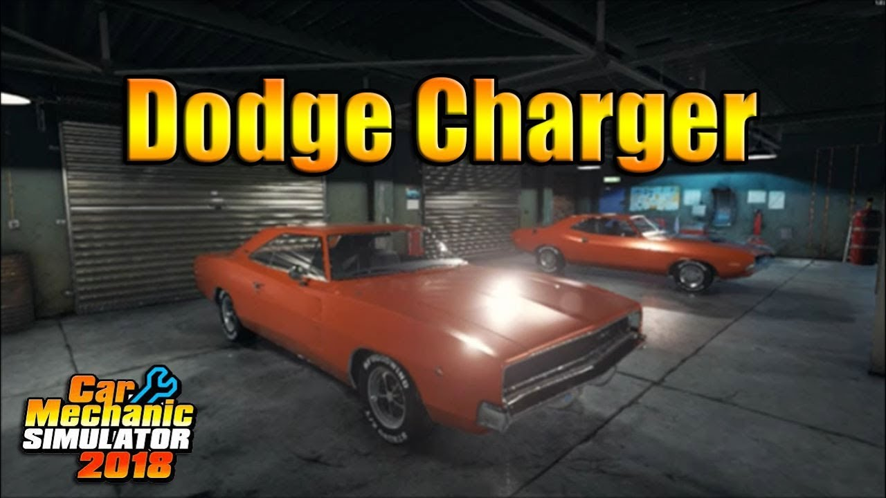 2018 dodge build. simple build car mechanic simulator 2018  dodge charger one day build to dodge build w
