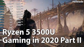 Gaming on AMD Ryzen 5 3500U Vega 8 in 2020 in 10 Games. Part 2
