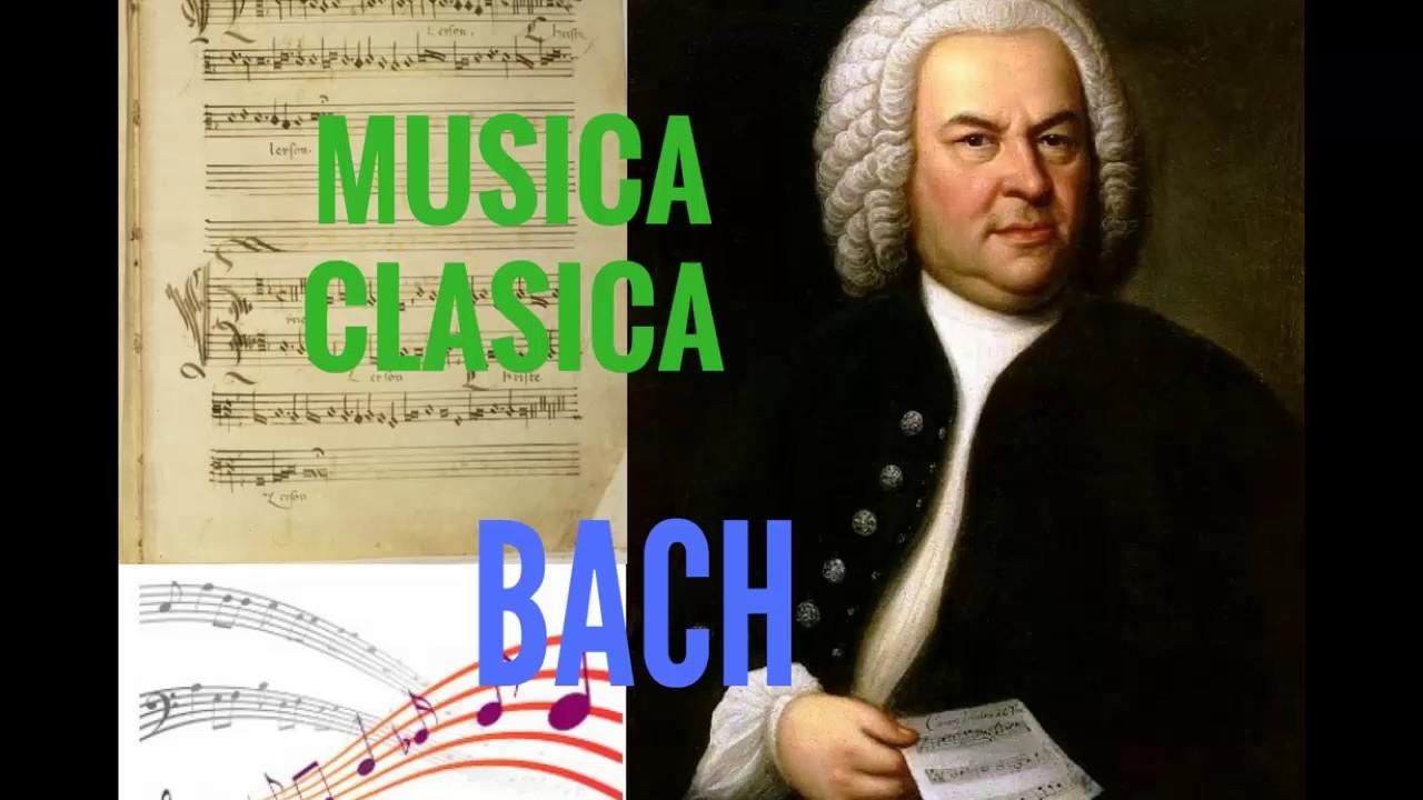 Musica Clasica De Bach Para Escuchar Prelude Y Allegreto Youtube