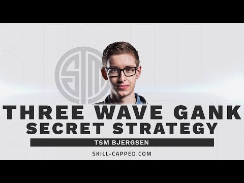 Analyzing TSM Bjergsen's Three Wave Gank Strategy