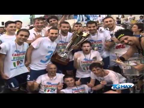 Pescara Calcio a 5, festa in municipio